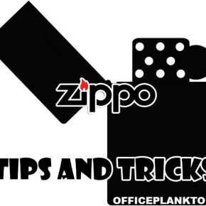 ТОП 5 простых фокусов и трюков с ZIPPO.