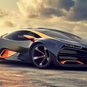 Гордость АвтоВАЗа - Суперкар Lada Raven