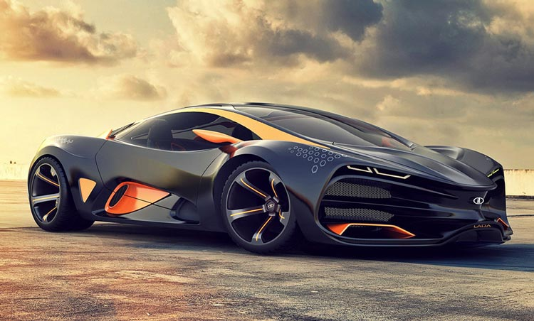 Гордость АвтоВАЗа — Суперкар Lada Raven