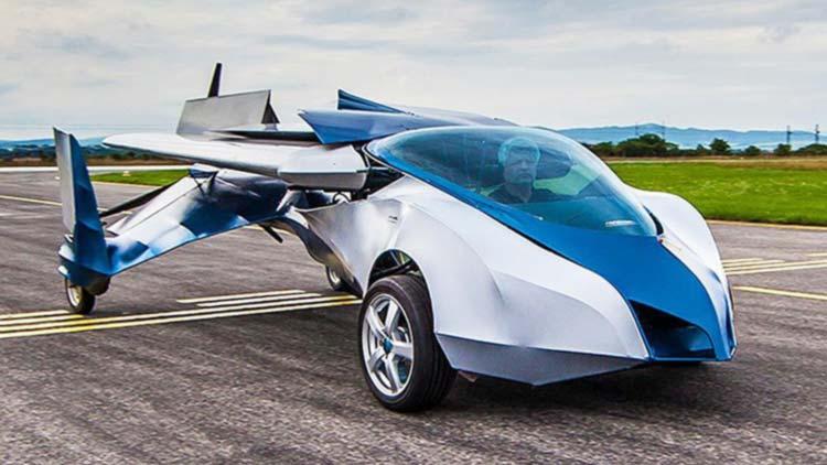 Летающий автомобиль: самый удачный прототип Аэромобиля.