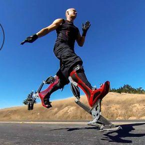 Bionic Boots: как улучшить бег до 40 км/ч.