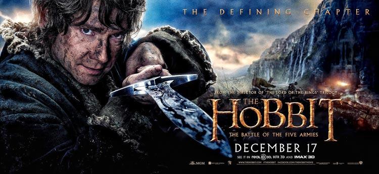 Второй трейлер фильма «Хоббит 3: Битва пяти воинств» HD.