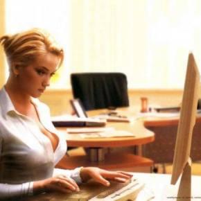 Джентльменская подборка красивых секретарш.