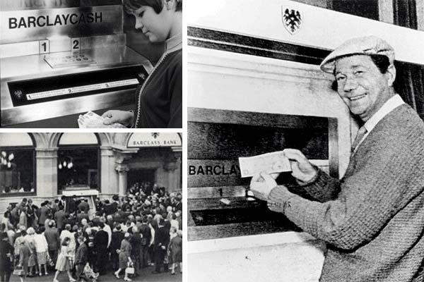 История появления первого банкомата.
