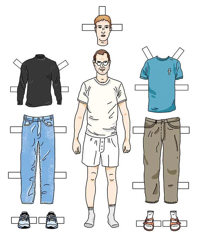 Одевайся как богач: почему знаменитые люди носят обыкновенную одежду