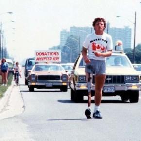 """Невероятная история появления """"марафона надежды"""" Терри Фокса."""