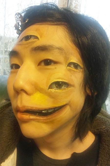 Креативные и ужасающие фотографии боди-арта.