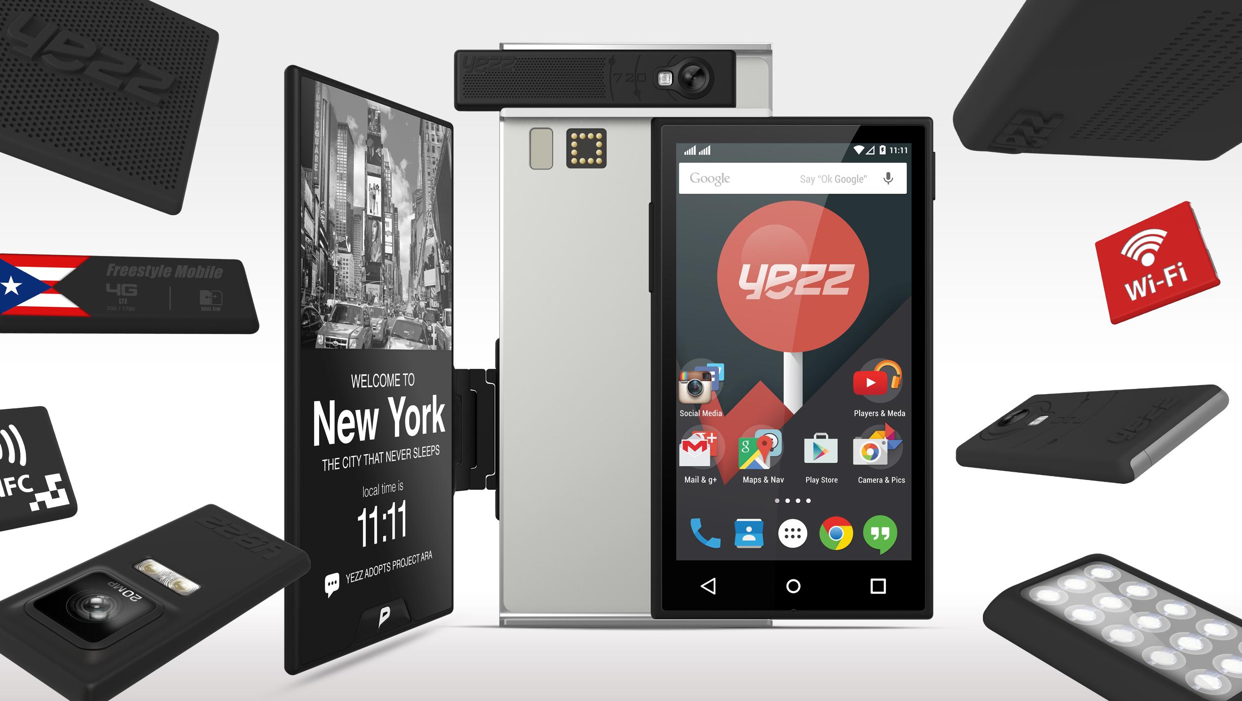 Достоинства и недостатки модульного смартфона ARA.