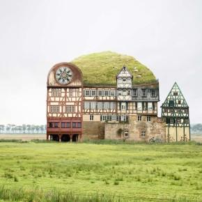 Сюрреалистические дома от немецкого дизайнера Матиаса Юнга.