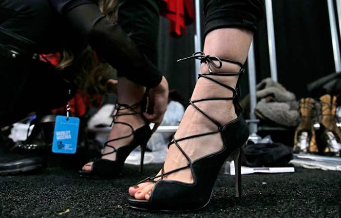 5 главных трендов в женской обуви 2015 года.