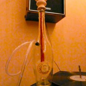 Делаем крутой кальян из стеклянной бутылки.