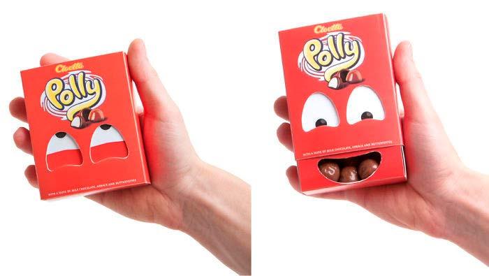 Очень оригинальные рекламные упаковки.