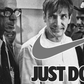 """Знаменитый слоган NIKE - """"Just do it"""" был придуман серийным убийцей."""