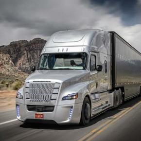 Freightliner Inspiration: первый беспилотный грузовик на дорогах Невады.