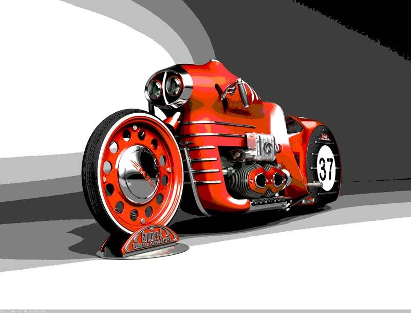 Охренительные концепты мотоциклов от Михаила Смолянова