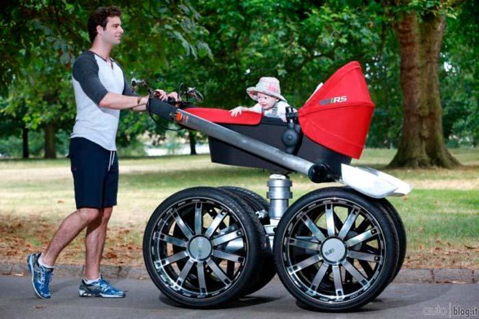 Какая коляска нужна для новорожденного