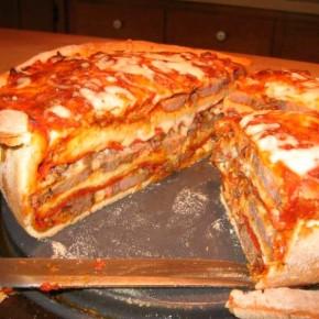 Рецепт настоящей мужской пиццы