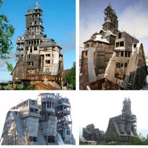 Деревянный дом в России и еще два очень необычных дома, на которые нужно взглянуть