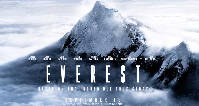 Захватывающий трейлер приключенческой драмы «Эверест» 2015.