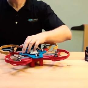 Как сделать летающий дрон.