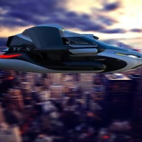 Футуристические возможности летающего автомобиля-самолета TF-X.