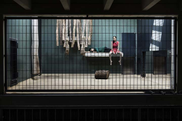 Зоопарк из людей: как бы выглядели зоопарки, если бы в клетках сидели люди.