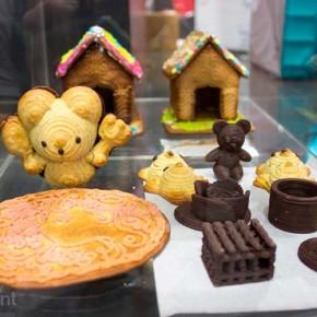 Увлекательное приготовление печенек на 3D-принтере The Food Printer. [Видео]