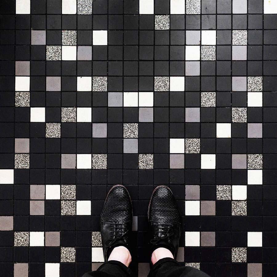 Парижский пол: галерея работ от немецкого фотографа Себастьяна Эрраса.