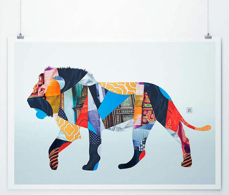 Сюрреалистические и цветные композиции от Эмерика Траханда.