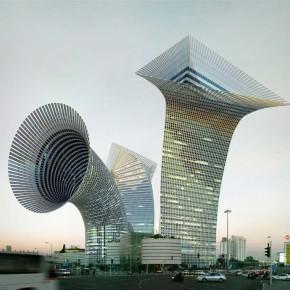Фантастические примеры архитектуры, нарущающей законы физики.