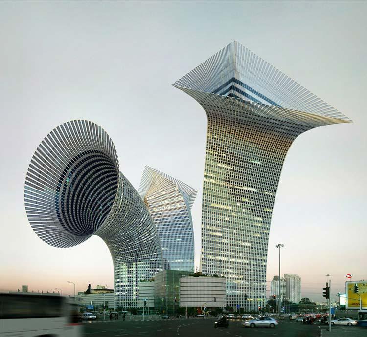 Вот так нарушают: архитектура, фантастически нарущающая законы физики