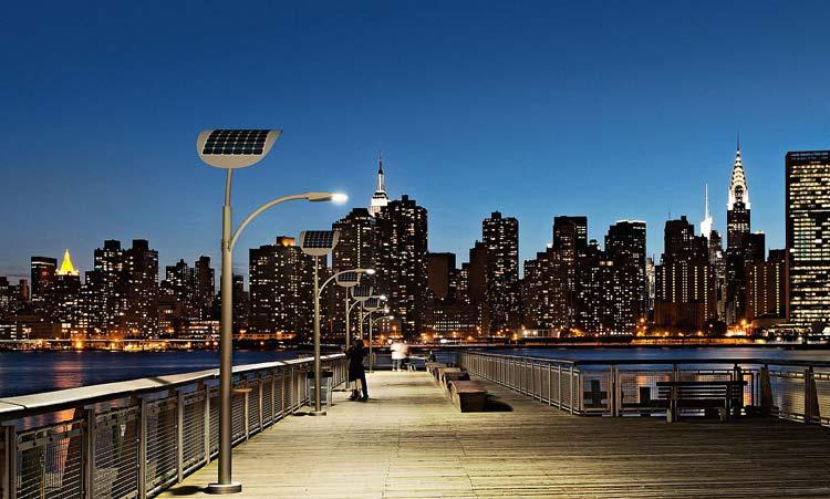 В Лас-Вегасе начнут освещать улицы альтернативными источниками энергии.