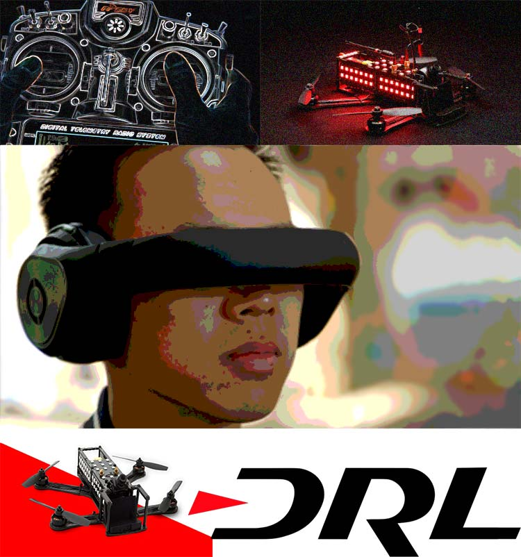 Drone Racing: как гонки на дронах стали новым видом спорта.