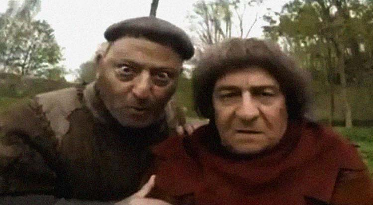 Они вернулись. «Пришельцы 3» с Жаном Рено и Кристианом Клавье.