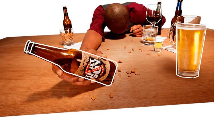 Как ты можешь опьянеть, не отпив ни глотка из бутылки.