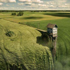 20 невозможных иллюстраций сюрреализма от Эрика Йоханссона.
