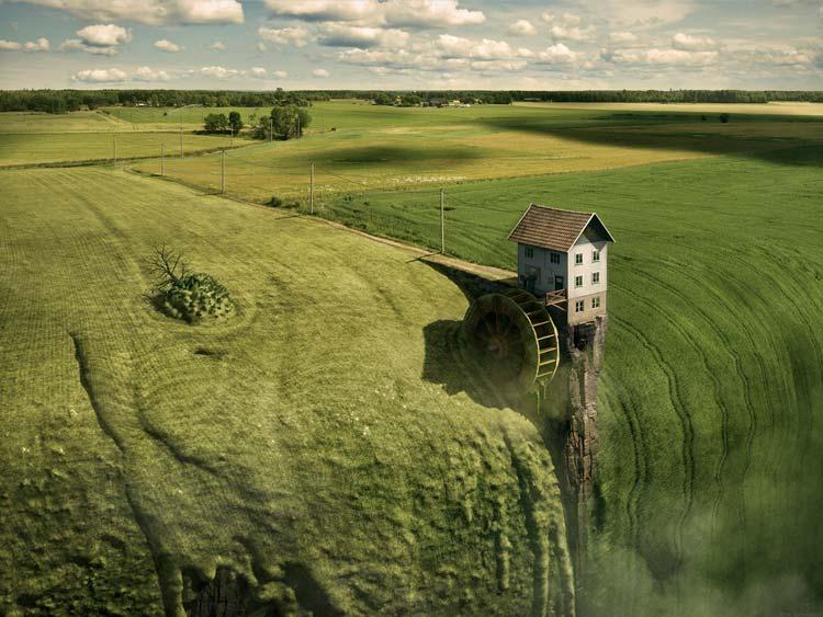 20 невозможных иллюстраций сюрреализма от Эрика Йоханссона