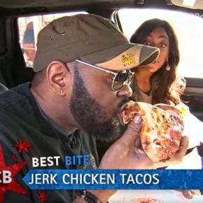 Самая лучшая пицца из ресторана быстрого питания Jerk Taco Man