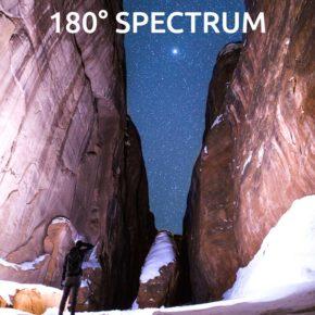 ONE80 - налобный светодиодный фонарик, с площадью освещения 180 градусов.