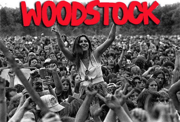 """Раритетные фотографии девушек с самого крутого рок-фестиваля """"Вудсток 69"""""""