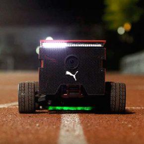 Робот-бегун от Puma, помогающий улучшить спортивные результаты спортсменов.