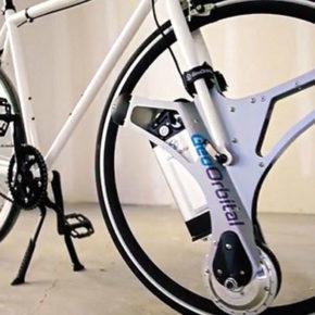 Обычный велосипед в электробайк благодаря стартапу GeoOrbital