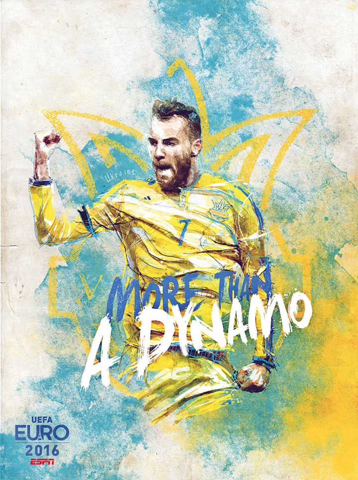 Больше чем футбол: крутые футбольные плакаты ЕВРО 2016, которые ты с гордостью повесишь на стену.