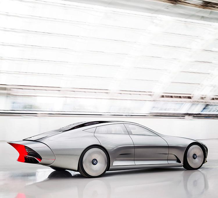 Электромобиль от Mercedes-Benz: самая ожидаемая новинка  Парижского автосалона 2016