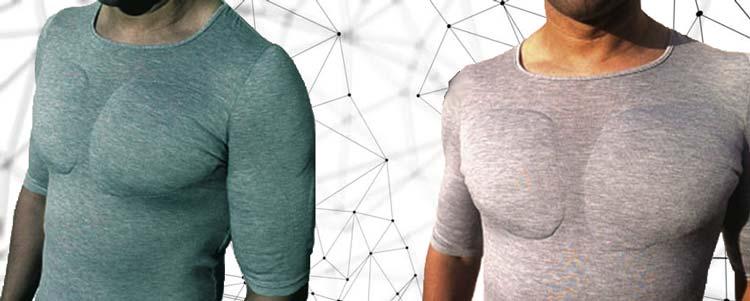 Мужской бюстгальтер: одежда с накладными мышцами для каждого неуважающего себя мужчины.
