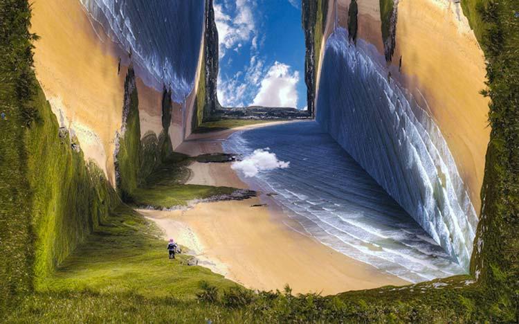 Ошеломляющие и головокружительные пейзажи альтернативной реальности.