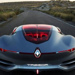 Невероятно крутой футуристический концепт автомобиля Renault Trezor