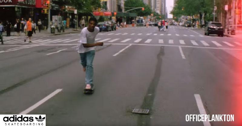 ADIDAS скейтбординг: как происходило покорение Нью-Йорка лучшими скейтбордистами.