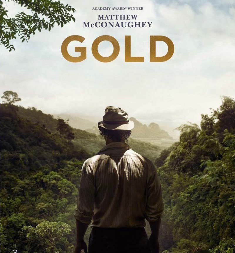 Премьера: Трейлер фильма Золото с Мэтью Макконахи в главной роли.