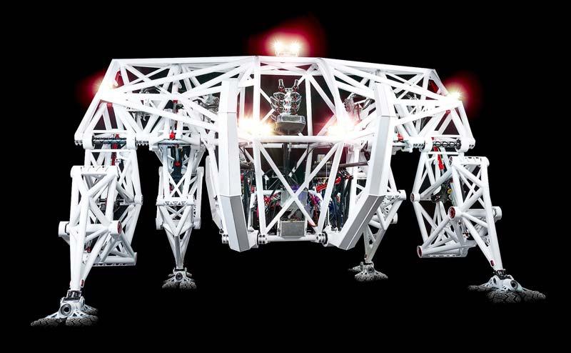 «Протез» первый в мире гоночный анти-робот от Furrion Robotics